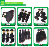 方法緩い波の加工されていないバージンのブラジルのケラチンの毛
