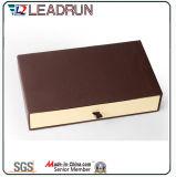 サテンの挿入エヴァの挿入現在ボックス札入れの財布ボックス(YSW10)が付いているちょうネクタイのギフト用の箱
