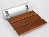 Qualitäts-hölzerne an der Wand befestigte faltende Badezimmer-Dusche-Stuhl-Möbel