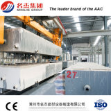 Linea di produzione del blocchetto di AAC macchina per fabbricare i mattoni completamente automatica della cenere volatile