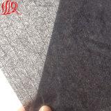 Ткань черной стеклоткани цвета влажная