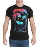 T-shirt de collet de l'O de mode de modèle de débit d'impression des hommes de vente en gros les plus neufs