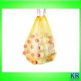 Doublure de coffre de sacs d'ordures de cordon de HDPE