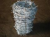 A alta qualidade Quente-Mergulhou o arame farpado galvanizado com o fabricante chinês da fábrica do melhor preço