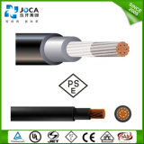 일본 Solar Power Station를 위한 PSE Single Core 5.5mm2 Solar Cable