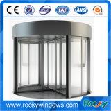 Pleine porte giratoire en verre