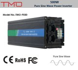 inverseur du pouvoir 500watt, onde sinusoïdale pure d'inverseur de 12V 220V, convertisseur 500W micro solaire