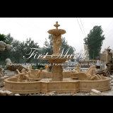 Grande fontana dell'oro del deserto per la decorazione domestica Mf-1005