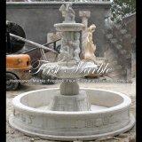 Fontana bianca del travertino per il regalo Mf-514