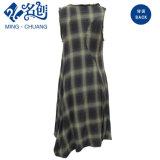Высокомарочный Slip-on платья повелительниц шотландки