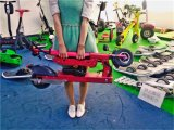 Seat Hoverboard를 가진 접힌 Kick Bike Electricity 35km 8.8ah Bicycle