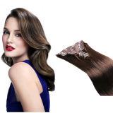 Grampo de cabelo humano de 100% em extensões do cabelo