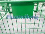 Abnehmbare Puder-Beschichtung, die Metalldraht-Rahmen-Ladeplatte stapelt