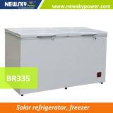congelatore orizzontale a pile del congelatore 318L del congelatore di frigorifero 12V