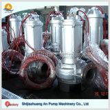 Bomba suja centrífuga elétrica do submarino da água de esgoto de água Waste da água