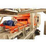 Máquina de fabricación de ladrillo concreta automática llena del cemento