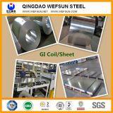 Hoja de acero galvanizada SGCC de China