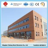 Almacén prefabricado de la estructura de acero de la construcción directa de la fábrica