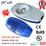 중국 제조 태양 LED 가로등 주차장 점화