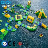 ПВХ надувные воды парк Комбинация оборудования для 145 человек