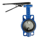 Oblate Type Butterfly Valve mit Handle oder Lever