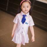 La alineada del uniforme escolar del jardín de la infancia puede ser de encargo