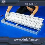 La publicité du cadre incurvé portatif d'éclairage LED de tissu d'installation facile