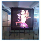Écran polychrome extérieur de publicité tridimensionnel de la machine DEL