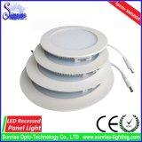 3W quadratische vertiefte LED Panel-Deckenleuchte