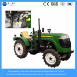 40HP 4WD Granja / Agricultura / Mini Cultivo / Compact / Pequeño / Césped / Paddy Tire / Tractor de Rastro de Granja