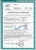 Certificado do Ce Tmcc-2225 que automatiza 100% tecnologias de corte e de espalhamento para o pano e o fato da forma