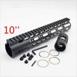 Tipos do trilho 6 de Keymod Handguard Picatinny do trilho do quadrilátero do flutuador livre de Customed
