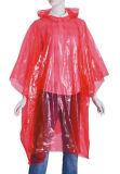 El impermeable impermeable Emergency de la tela encapuchada, emergencia impermeabiliza