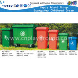 De openlucht Kleurrijke Plastic Bak van het Huisvuil (hd-18611)