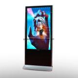 스크린을 광고하는 55 인치 자유로운 서 있는 기본적인 버전 LCD
