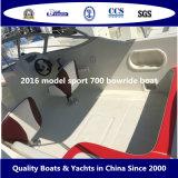 2016 barco modelo de Bowride del deporte 700