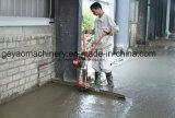 Laïus de finissage de surface en béton avec les supports en caoutchouc lourds