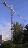 Wolff verwendete Turmkran 6522