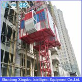 건축자재 주파수 변환장치 철사 밧줄 건축 호이스트가 중국 공급자에 의하여 값을 매긴다