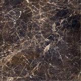 安くブラウン磨かれた自然な中国暗いEmperadorの大理石