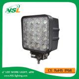 Il lavoro del LED illumina la lampada 48W