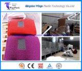 PVCコイルの床シートのマットロール生産ライン、プラスチッククッションのカーペットロールプラント