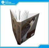 꿰매는 두꺼운 표지의 책 상자 행이는 책 인쇄