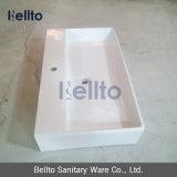Pared Hung Ceramic Bathroom Sink con Bathroom Accessories (3706)