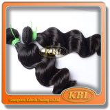 Armure brésilienne de Bohème normale de cheveux humains de la couleur 350 d'enroulement