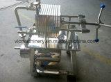 Filtre-presse d'acier inoxydable de point de gel (FP-150), filtre à huile, filtres