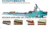 Machine en bois d'extrudeuse d'extrusion de plancher de PVC WPC