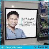 Visualizzazione di pubblicità all'ingrosso LED sottile Lightbox magnetico