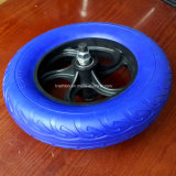 3.25-8 플라스틱 변죽 및 차축을%s 가진 한국 외바퀴 손수레 PU 거품 타이어