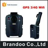 Câmera do corpo da polícia com a câmara digital 4G de Brandoo